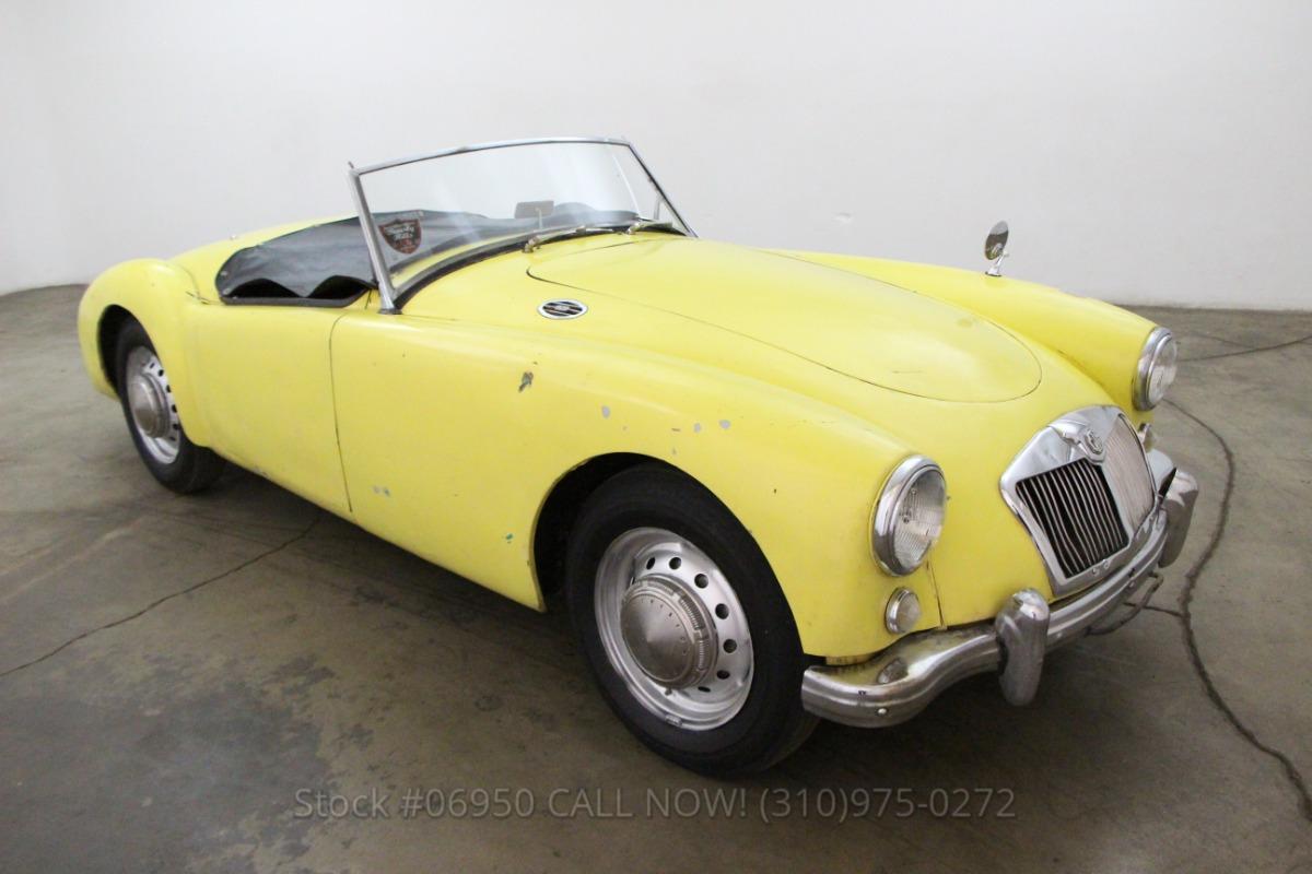 1957 MG A Roadster   Beverly Hills Car Club
