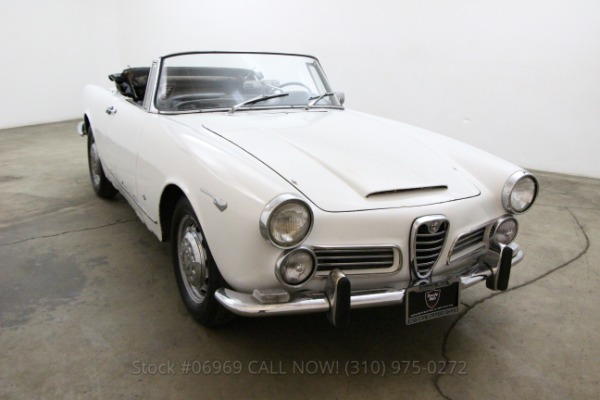 1964 Alfa Romeo 2600 Spider
