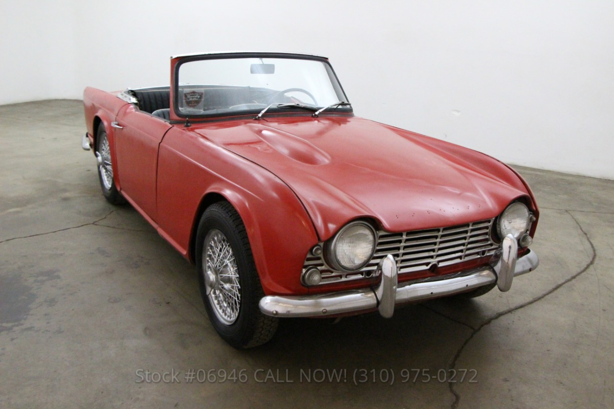 1963 Triumph TR4 | Beverly Hills Car Club