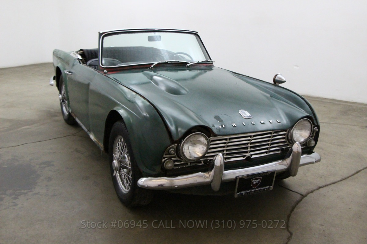 1963 triumph tr4 beverly hills car club. Black Bedroom Furniture Sets. Home Design Ideas