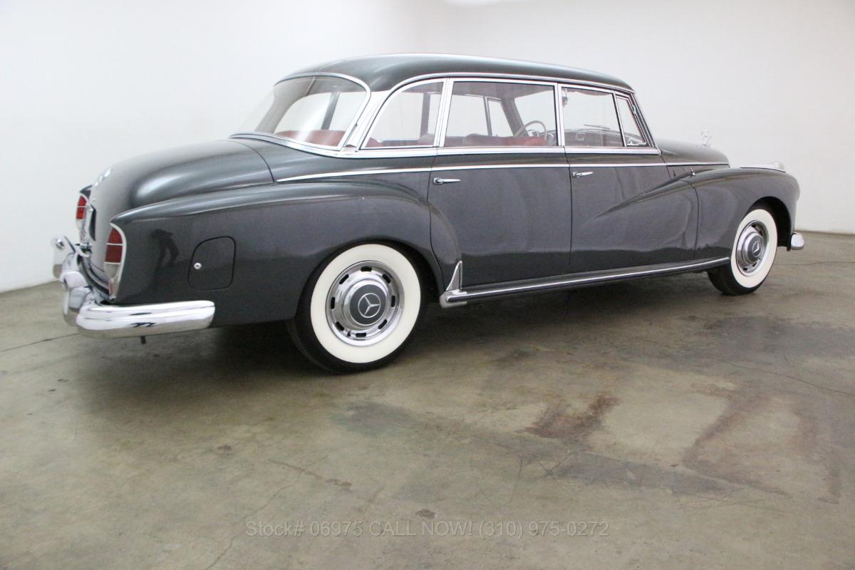 1960 mercedes benz 300d beverly hills car club for Mercedes benz 300d