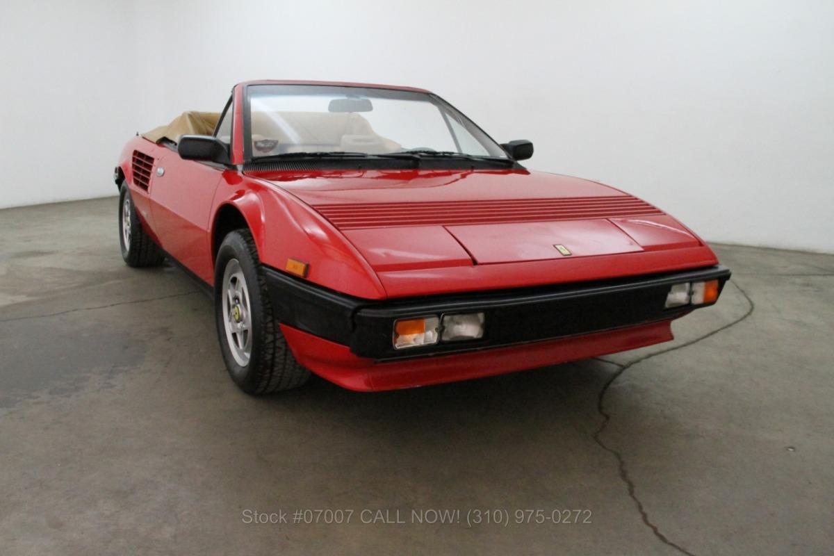 1984 ferrari mondial cabriolet beverly hills car club. Black Bedroom Furniture Sets. Home Design Ideas
