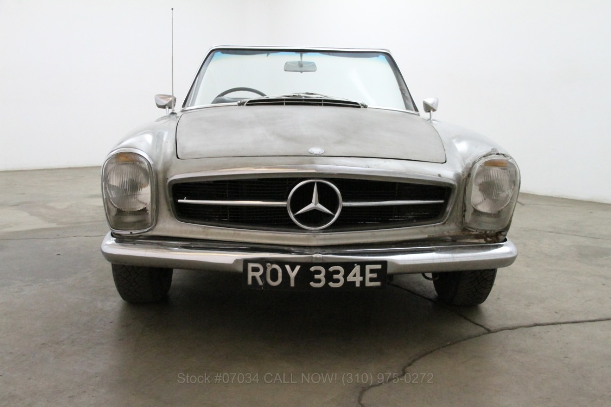 1967 mercedes benz 230sl for sale 57 500 1460627 for Mercedes benz 230sl