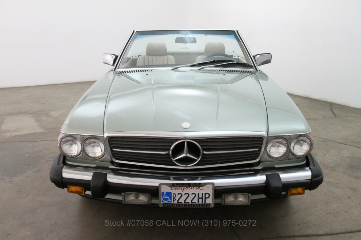 1987 mercedes benz 560sl for sale 14 750 1462009 for Mercedes benz 1987