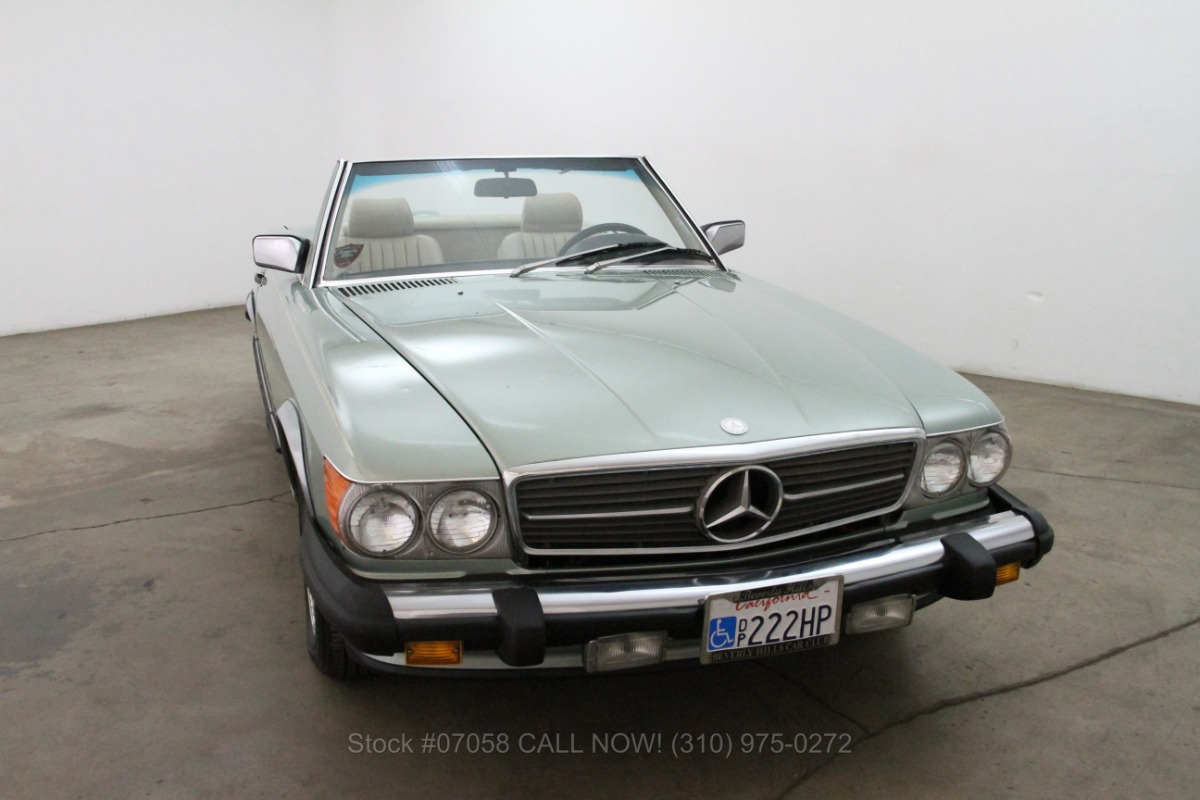 1987 mercedes benz 560sl for sale 14 750 1462009 for Mercedes benz 560sl