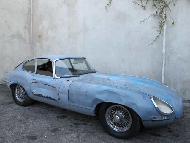 1963 Jaguar Xke Fixed Head Coupe