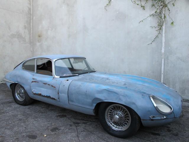 1963 Jaguar Xke Fixed Head Coupe