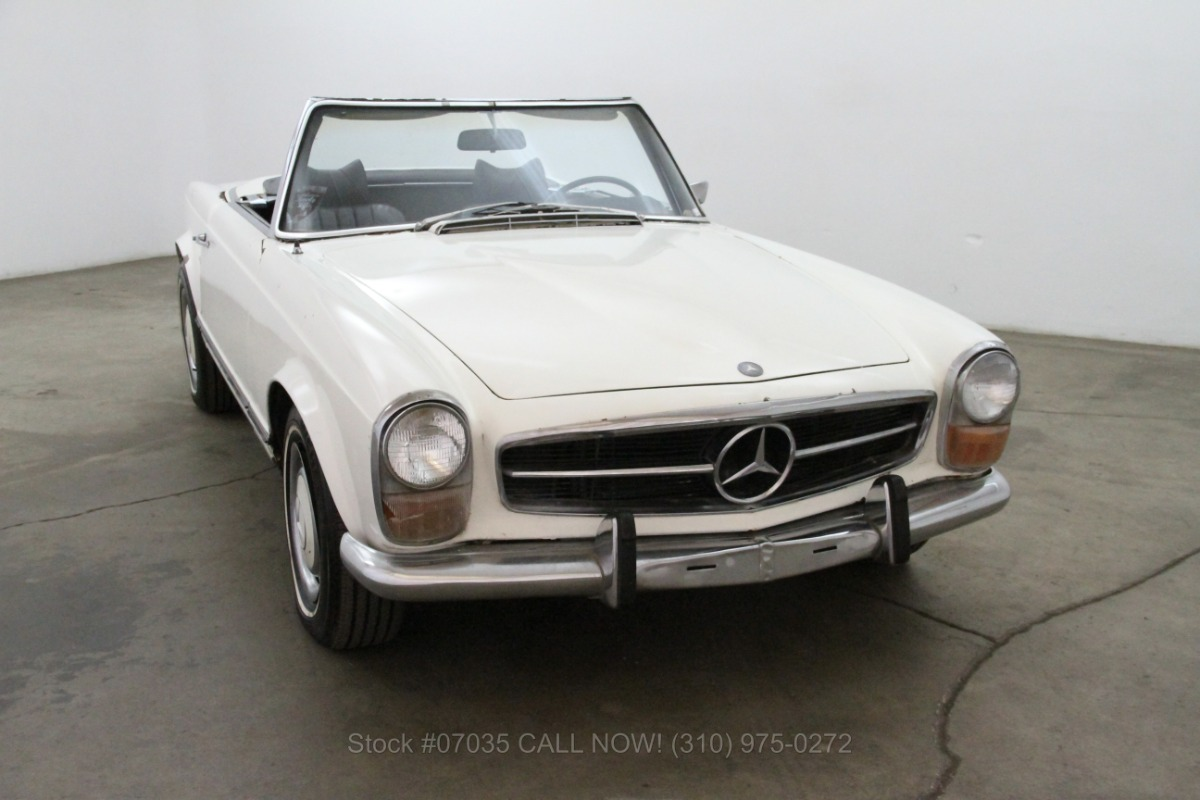 1971 mercedes benz 280sl pagoda beverly hills car club for Mercedes benz 280sl pagoda