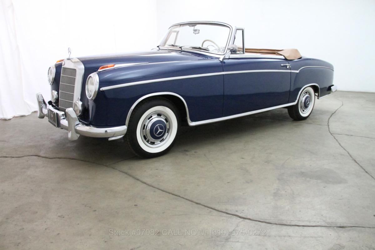 1956 mercedes benz 220s for sale 98 500 1469195 for 1956 mercedes benz