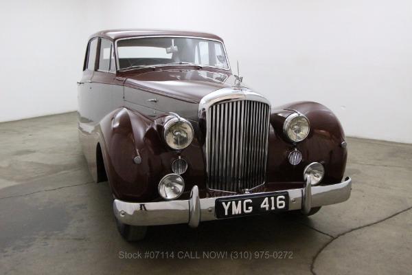 1952 Bentley Saloon Right Hand Drive