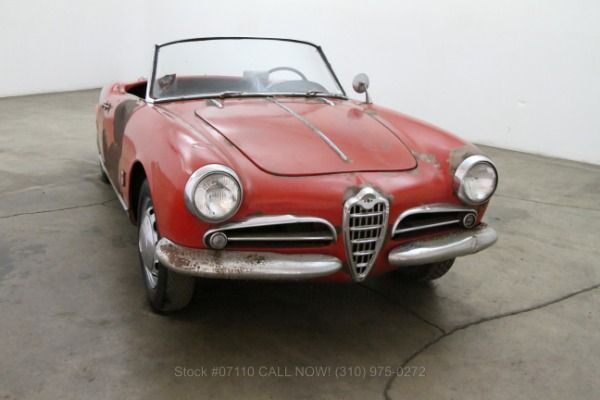 1957 Alfa Romeo Guilletta Spider