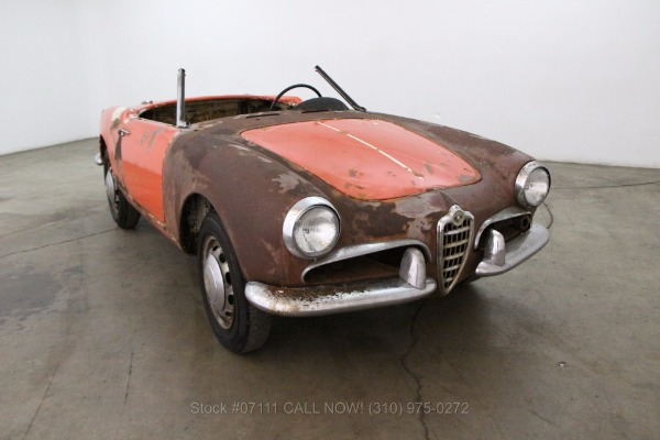 1957 Alfa Romeo Giulietta Spider Veloce
