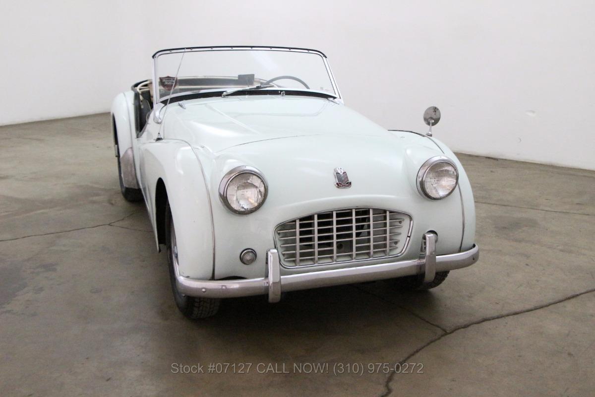 1956 Triumph TR3 Small Mouth | Beverly Hills Car Club