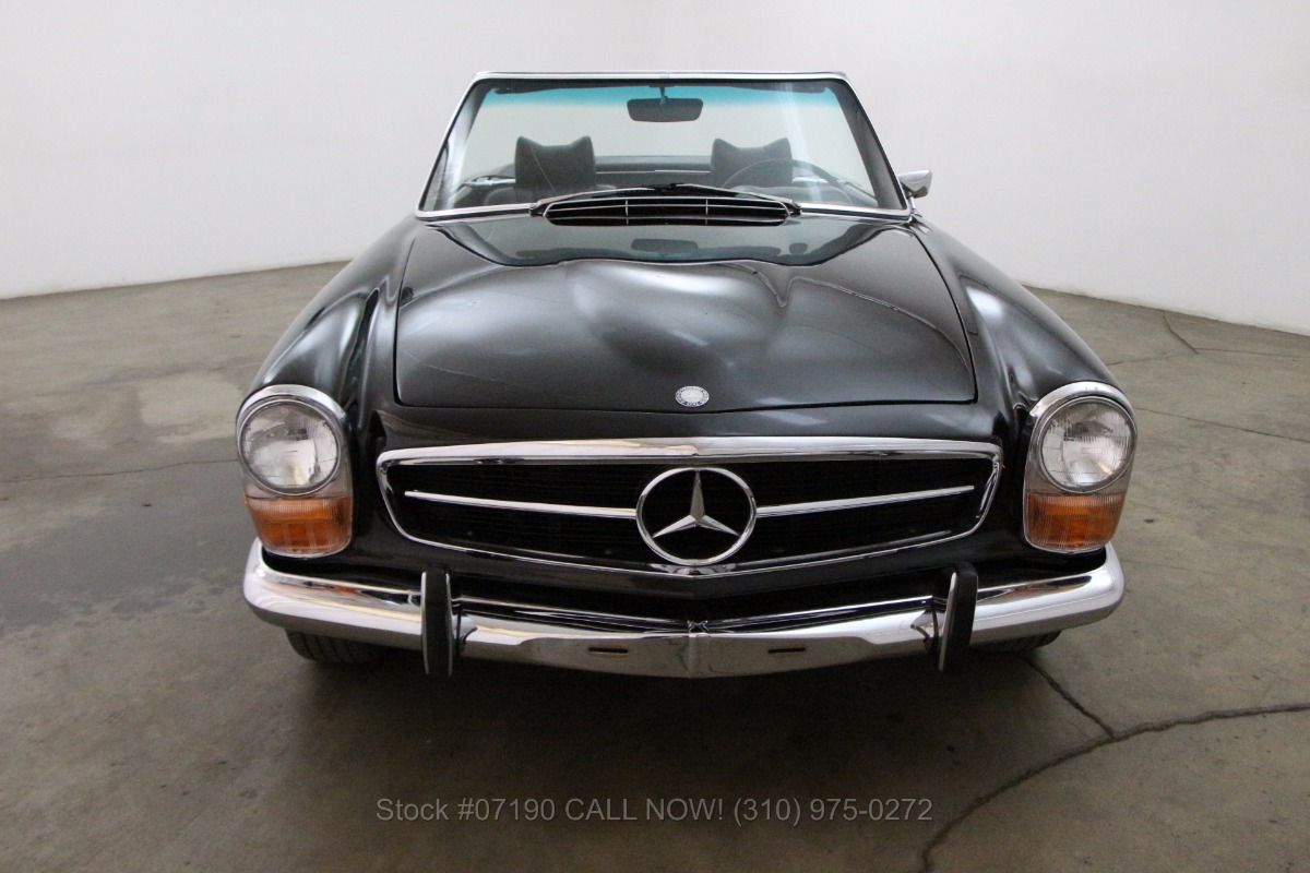 1969 mercedes benz 280sl pagoda beverly hills car club for Beverly hills mercedes benz service