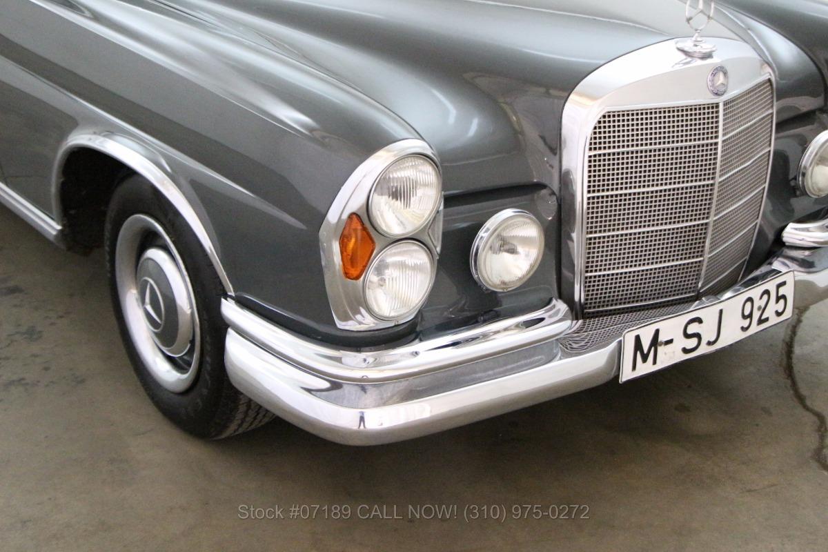 1965 mercedes benz 250se sunroof coupe beverly hills car. Black Bedroom Furniture Sets. Home Design Ideas