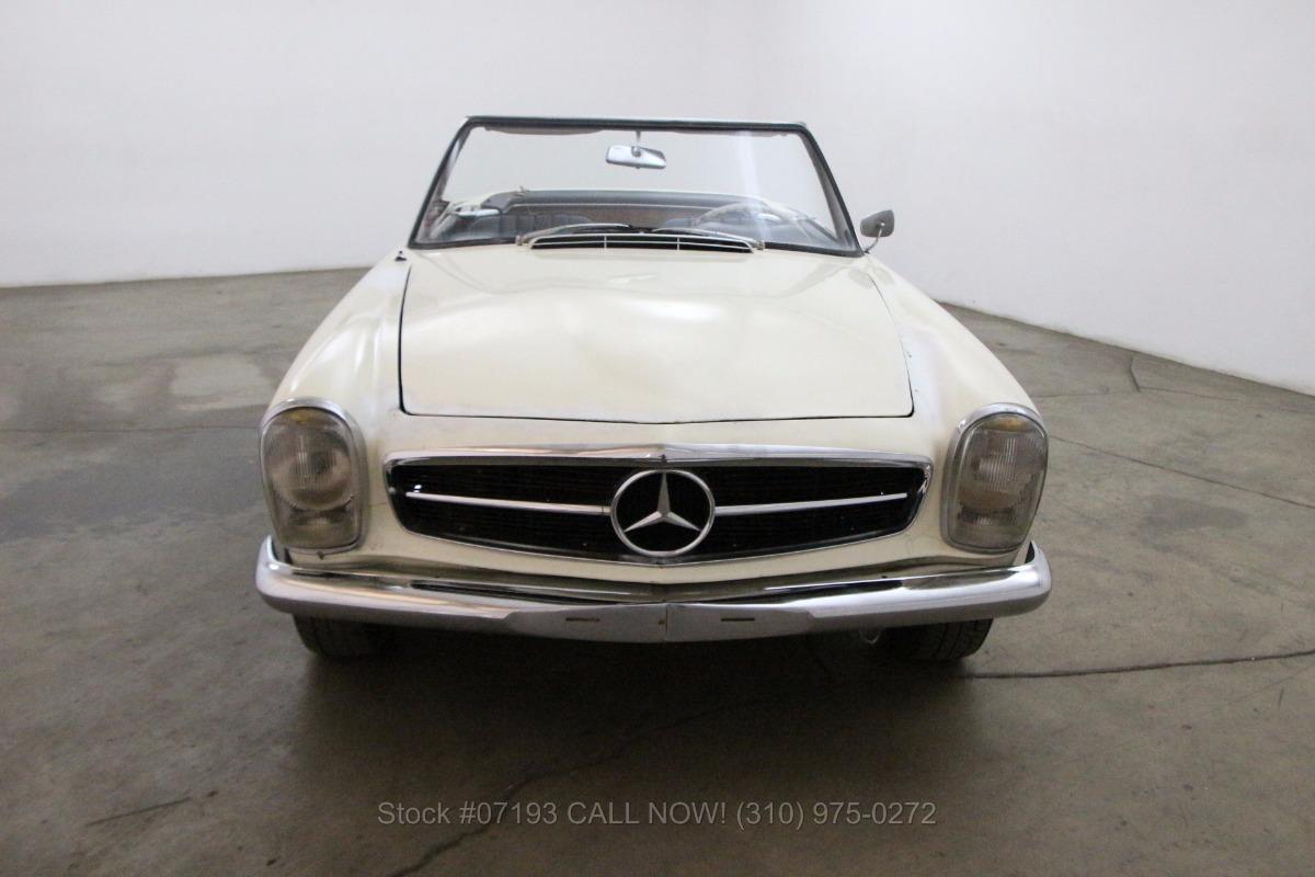 1964 mercedes benz 230sl beverly hills car club for Mercedes benz service beverly hills
