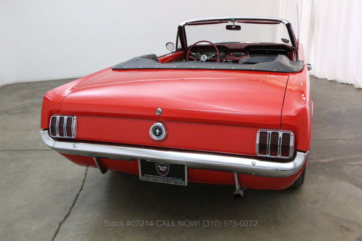 1964 Ford Mustang Convertible Beverly Hills Car Club Mach 1 Used Los Angeles Ca