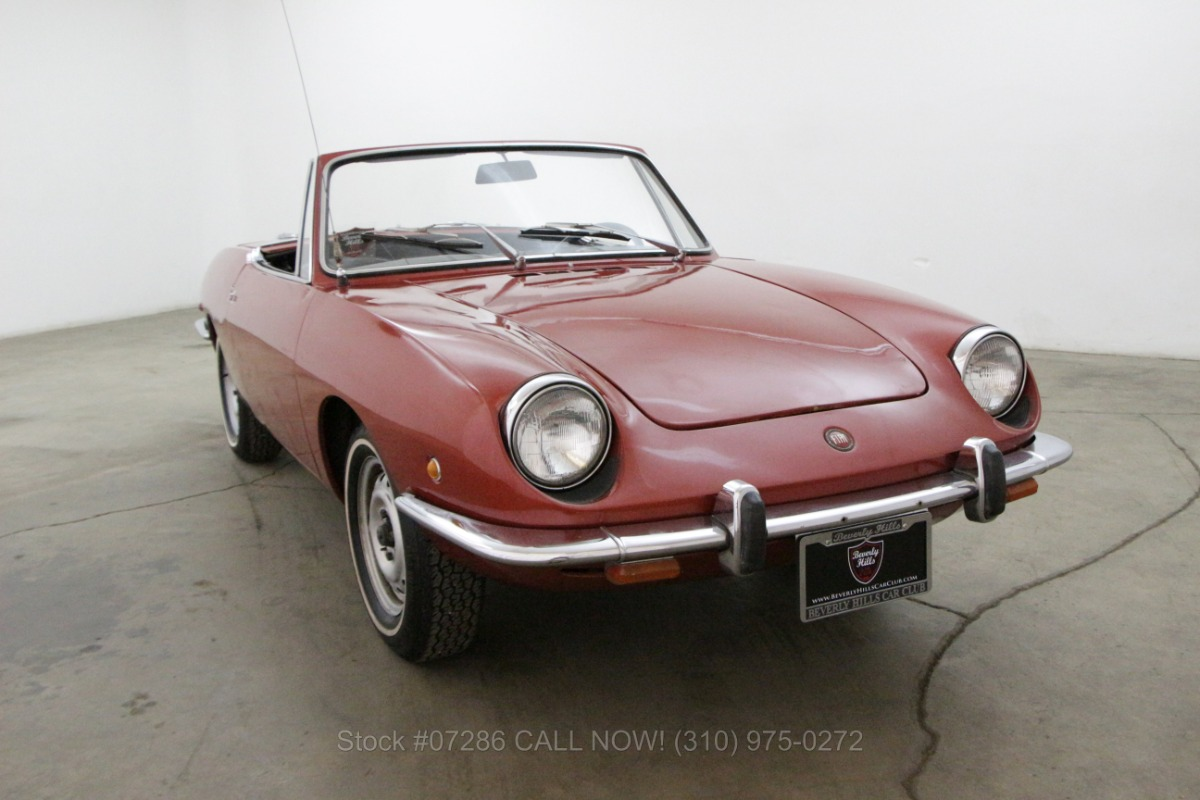 1968 fiat 850 spider beverly hills car club. Black Bedroom Furniture Sets. Home Design Ideas