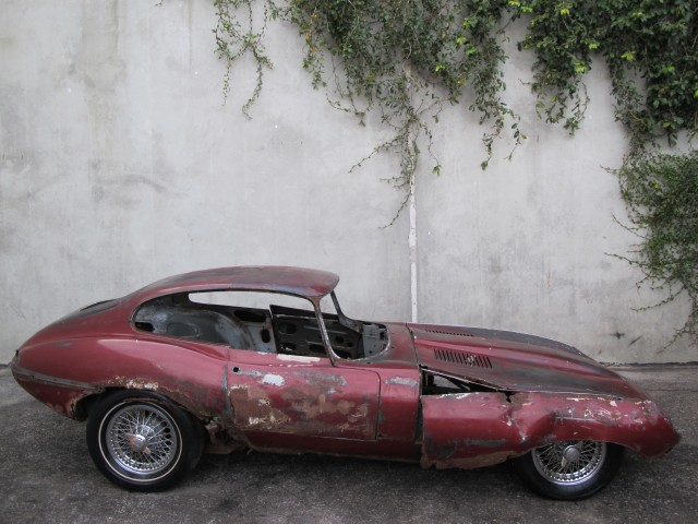 1967 Jaguar Xke Fixed Head Coupe