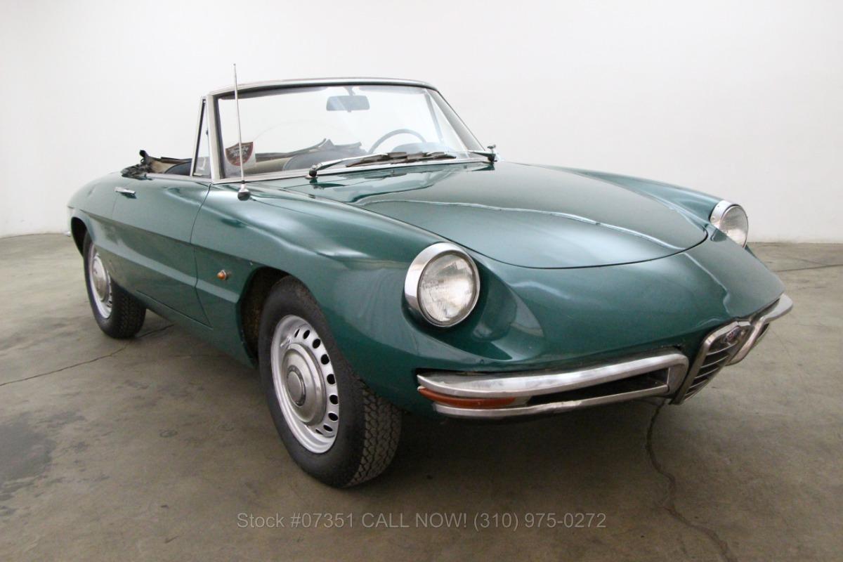 1969 alfa romeo duetto spider | beverly hills car club
