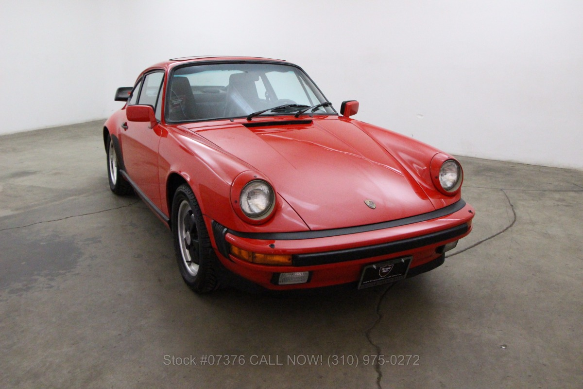 1985 Porsche Carrera Sunroof Coupe Beverly Hills Car Club