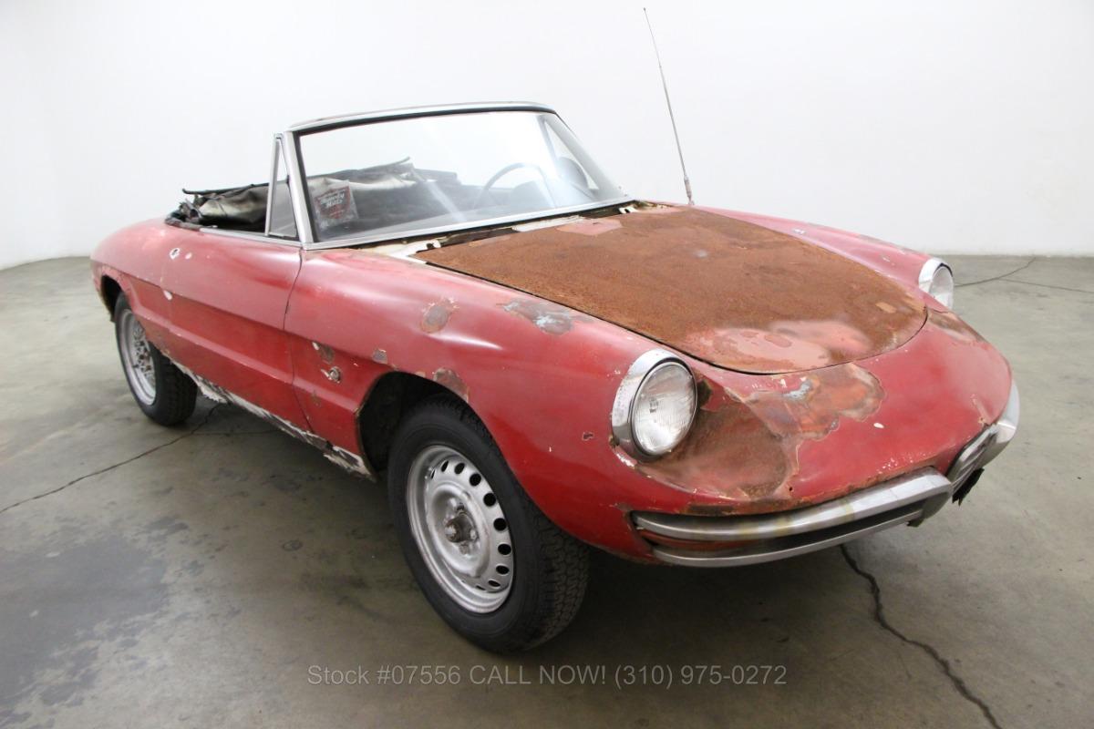 1968 alfa romeo duetto spider beverly hills car club. Black Bedroom Furniture Sets. Home Design Ideas