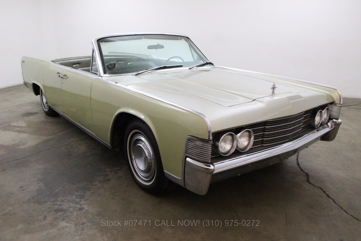1965 Lincoln Continental Convertible Beverly Hills Car Club