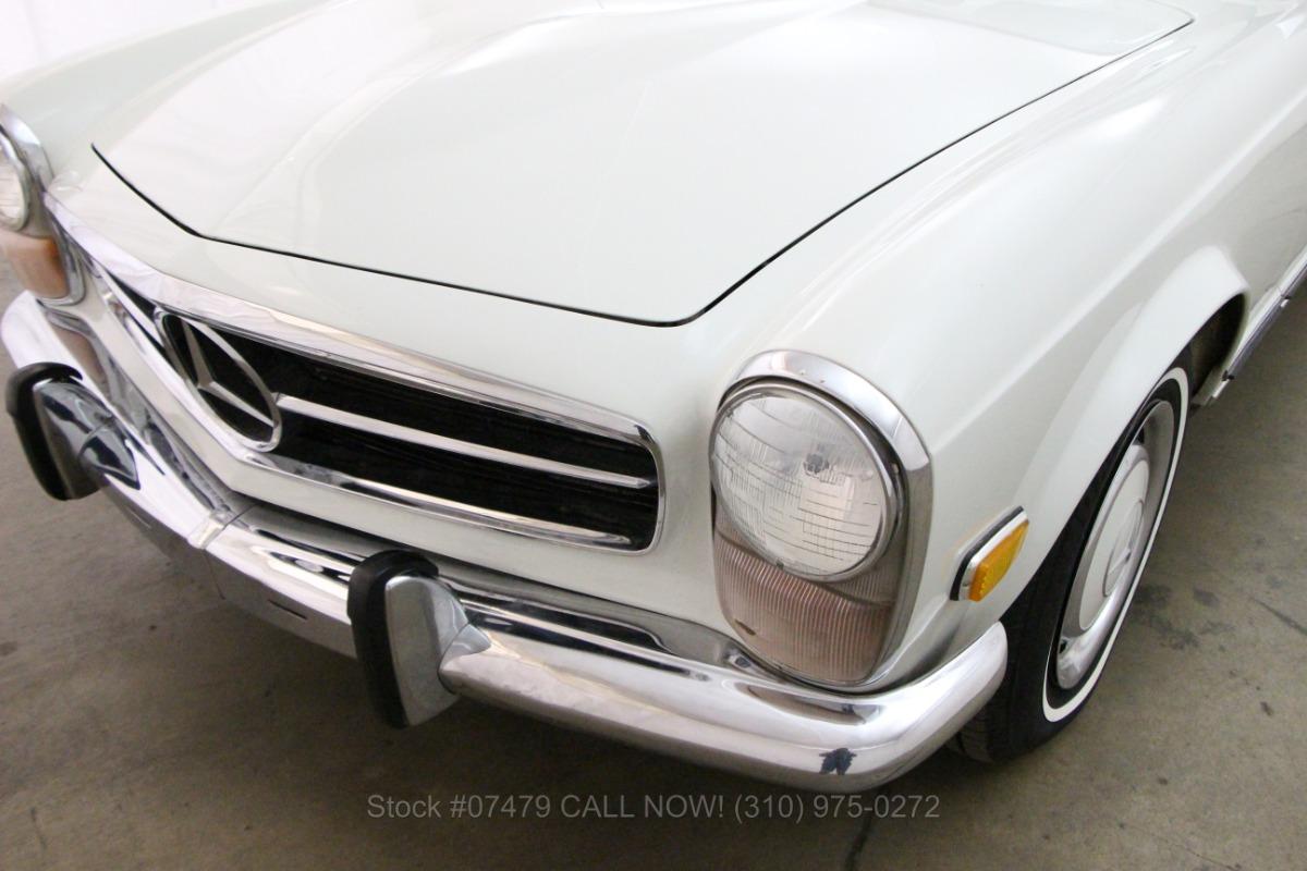 1971 Mercedes Benz 280sl Pagoda Beverly Hills Car Club El Dorado Headlight Wiring Harness Used Los Angeles Ca