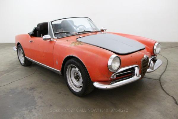 1961 Alfa Romeo Guilletta Spider