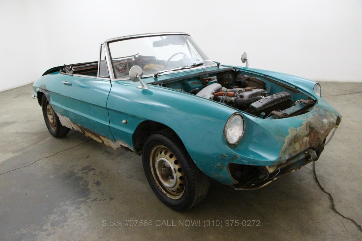1968 Alfa Romeo Duetto Spider Beverly Hills Car Club Used Los Angeles Ca