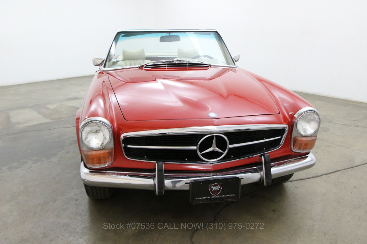 1969 mercedes benz 280sl pagoda beverly hills car club for Mercedes benz 280sl pagoda