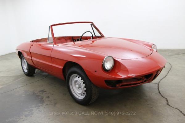 1969 Alfa Romeo Duetto Spider