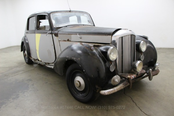 1946 Bentley MKIV Right Hand Drive