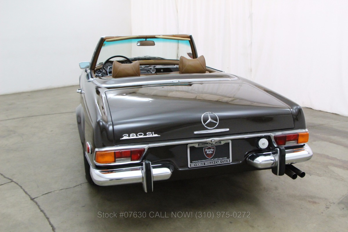 1971 mercedes benz 280sl pagoda beverly hills car club for Buy classic mercedes benz
