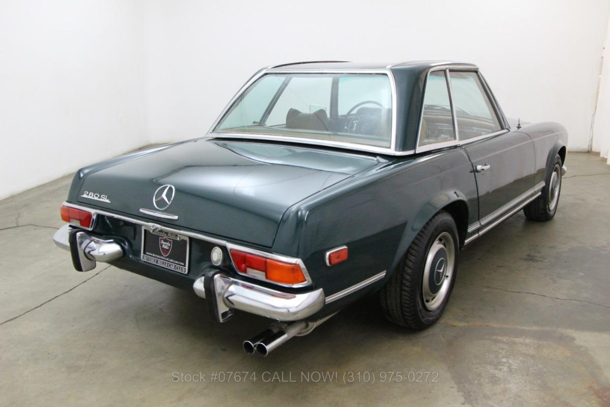 1969 mercedes benz 280sl pagoda beverly hills car club for Mercedes benz in beverly hills
