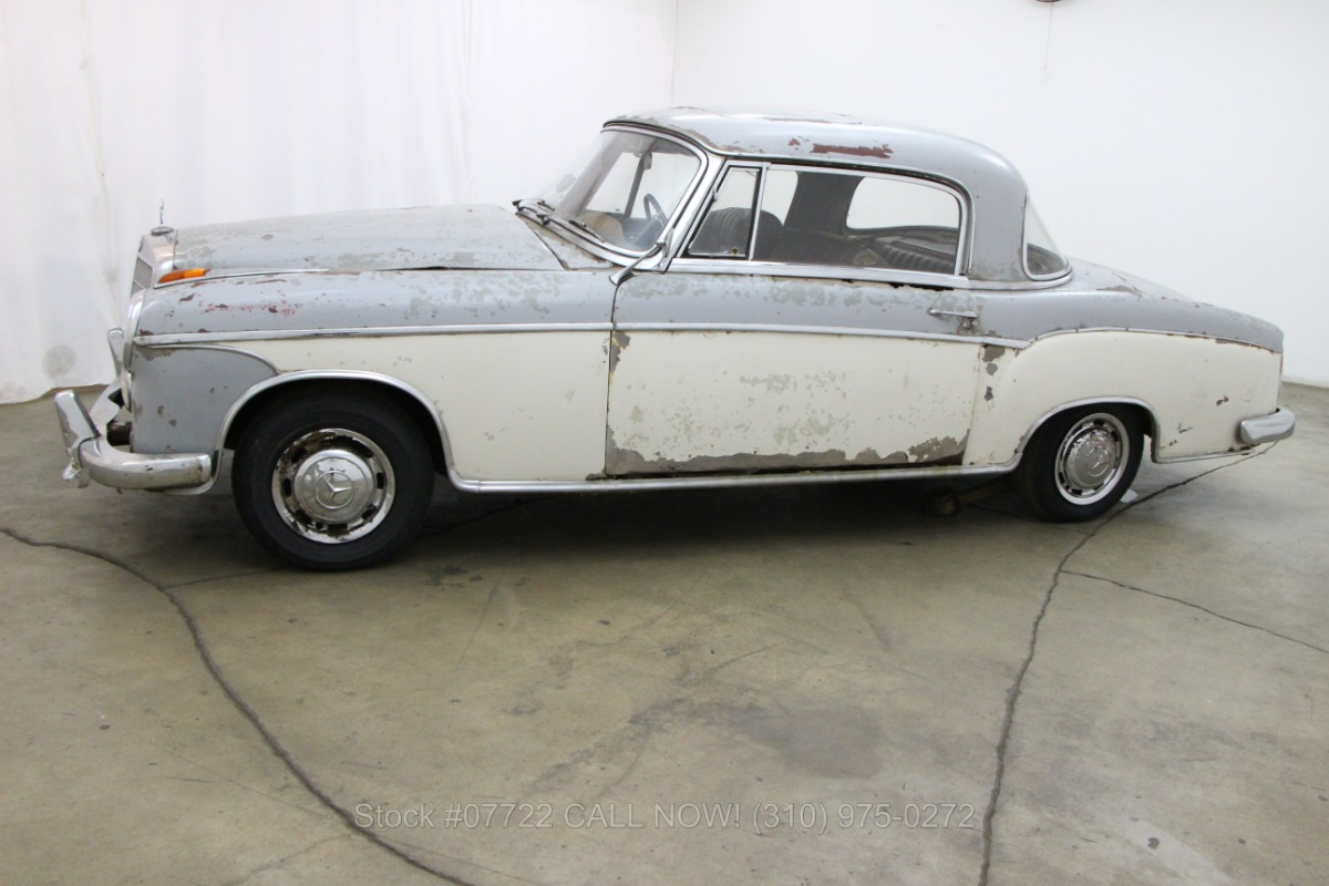1958 mercedes benz 220se sunroof coupe beverly hills car for Buy classic mercedes benz