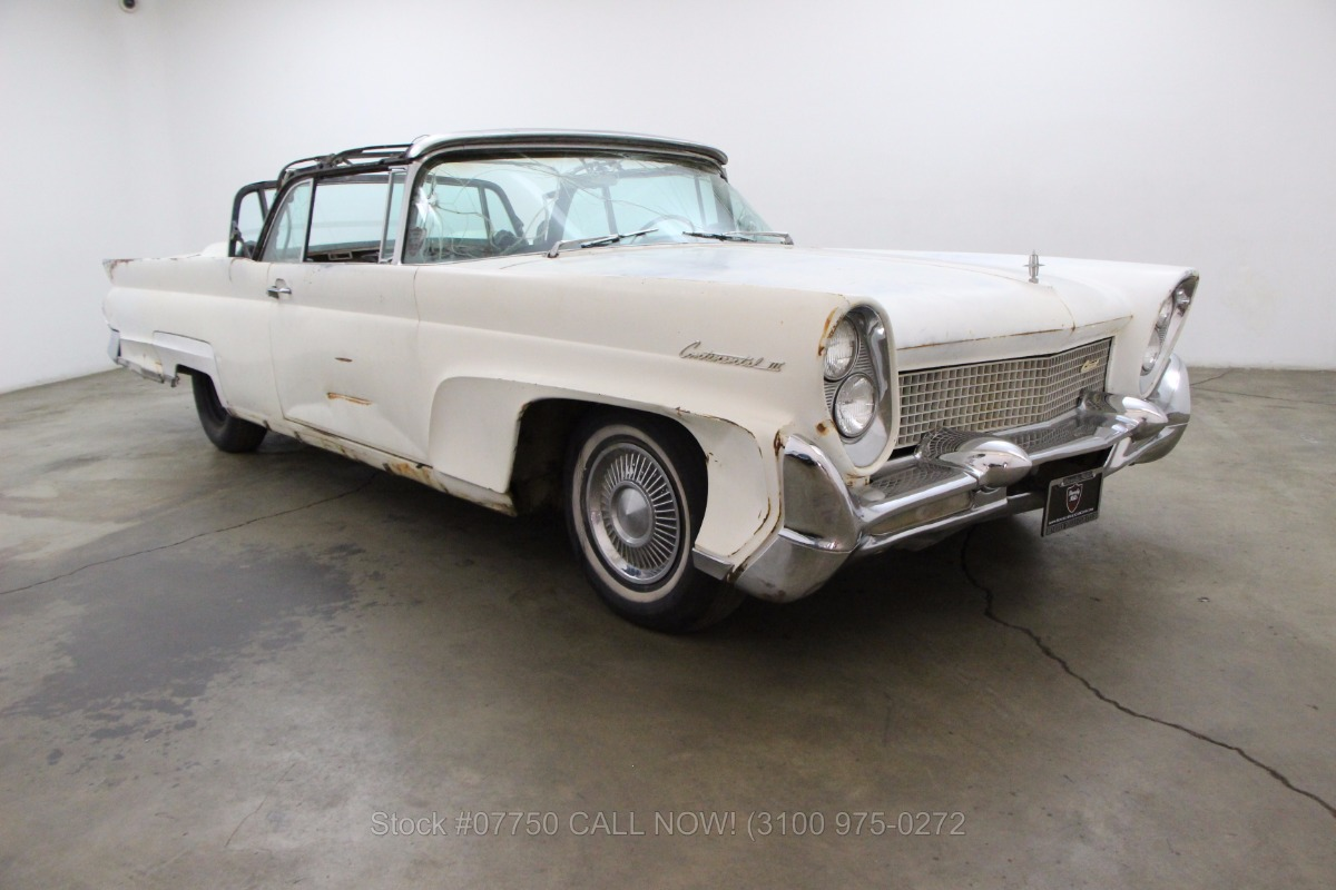 1958 lincoln continental convertible beverly hills car club. Black Bedroom Furniture Sets. Home Design Ideas