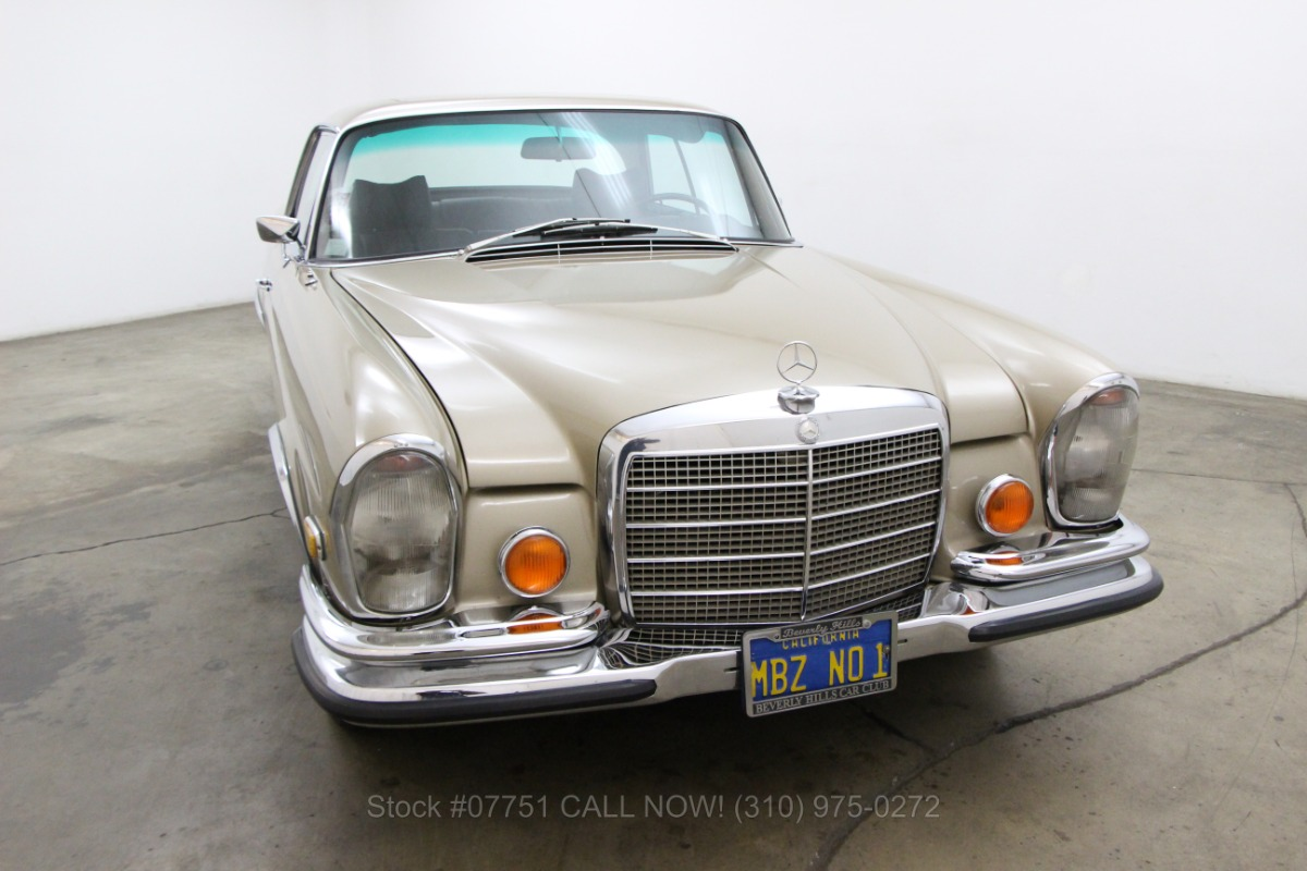 1970 mercedes benz 280se 3 5 sunroof coupe beverly hills for 1970 mercedes benz 280se