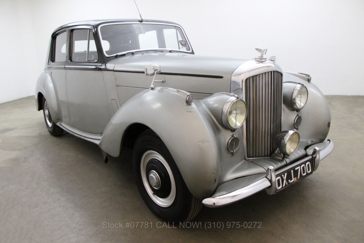 Beverly Hills Motor Cars: 1954 Bentley R-Type Saloon