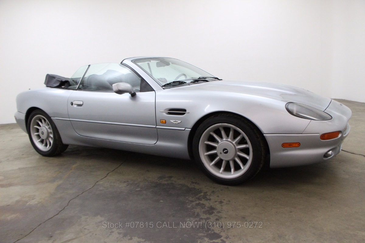 1997 aston martin db7 volante beverly hills car club. Black Bedroom Furniture Sets. Home Design Ideas