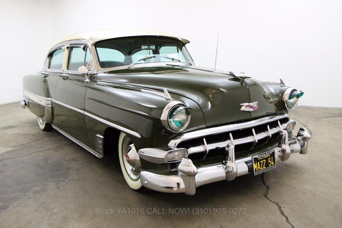 All Chevy 1954 chevrolet belair : 1954 Chevrolet Bel Air Sedan | Beverly Hills Car Club