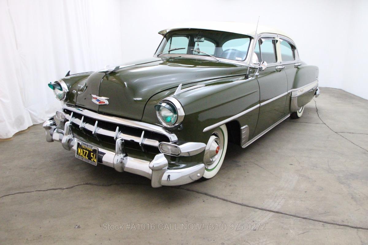 1954 Chevrolet Bel Air Sedan Beverly Hills Car Club Used Los Angeles Ca