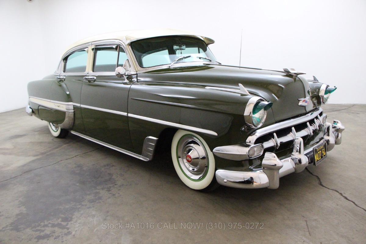 1954 Chevrolet Bel Air Sedan Beverly Hills Car Club Chevy Used Los Angeles Ca