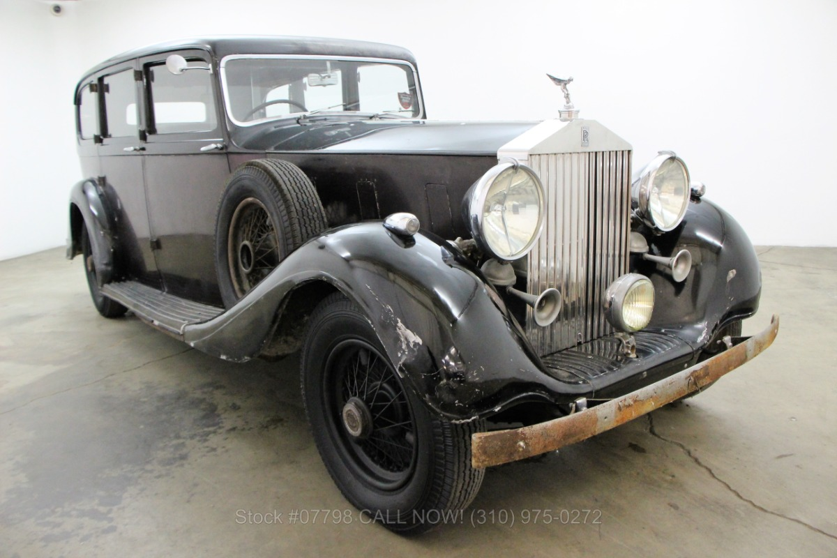 1940 rolls royce phantom iii limousine beverly hills car club. Black Bedroom Furniture Sets. Home Design Ideas