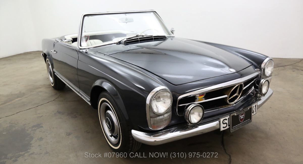 1967 mercedes benz 230sl pagoda beverly hills car club for Mercedes benz 230sl