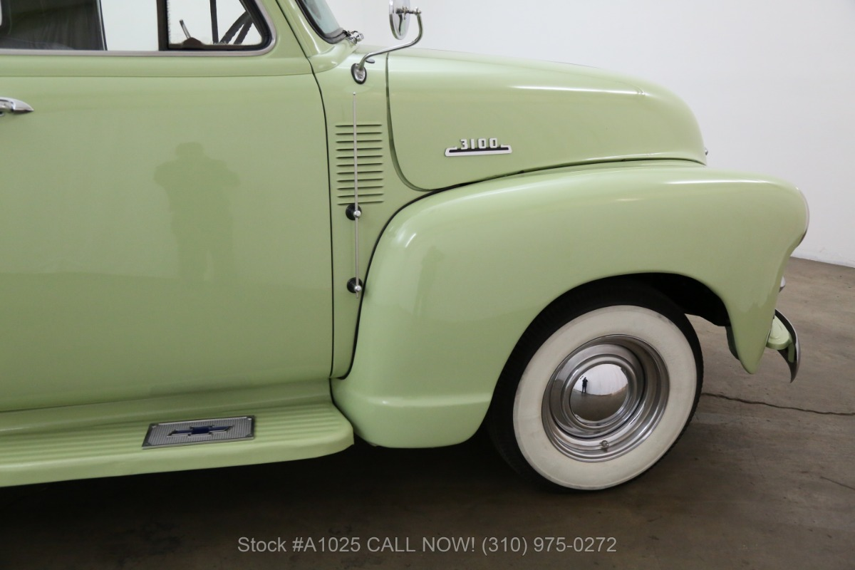 1954 Chevrolet 3100 Deluxe Cab Short Box Pickup Beverly Hills Car Club Chevy C10 Pick Up Used Los Angeles Ca
