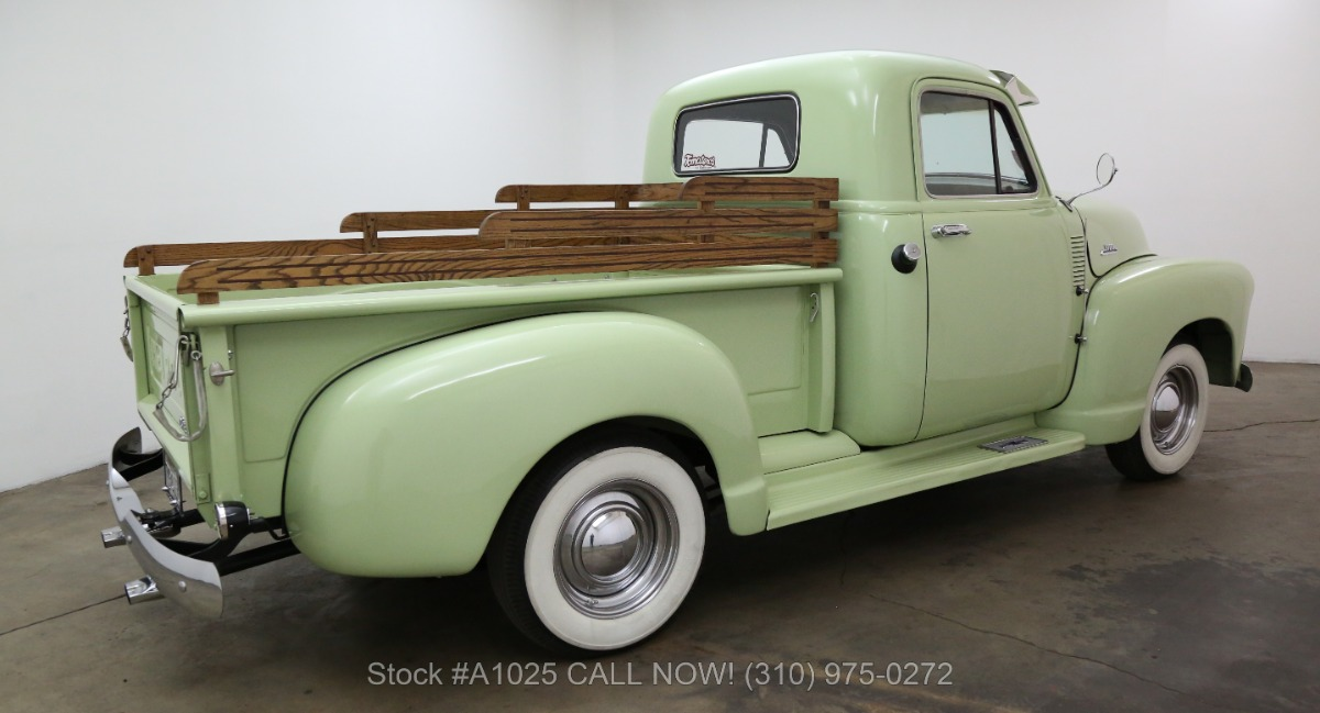 1954 Chevrolet 3100 Deluxe Cab Short Box Pickup Beverly Hills Car Club Truck Used Los Angeles Ca