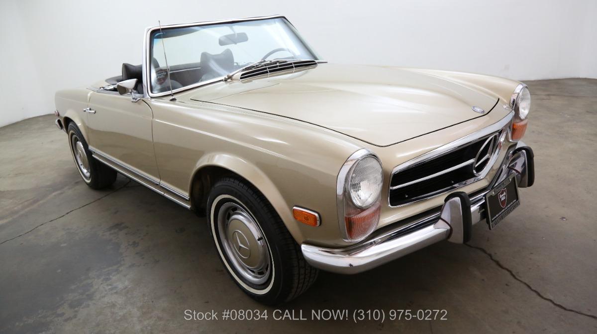 1970 mercedes benz 280sl pagoda beverly hills car club for Mercedes benz service beverly hills