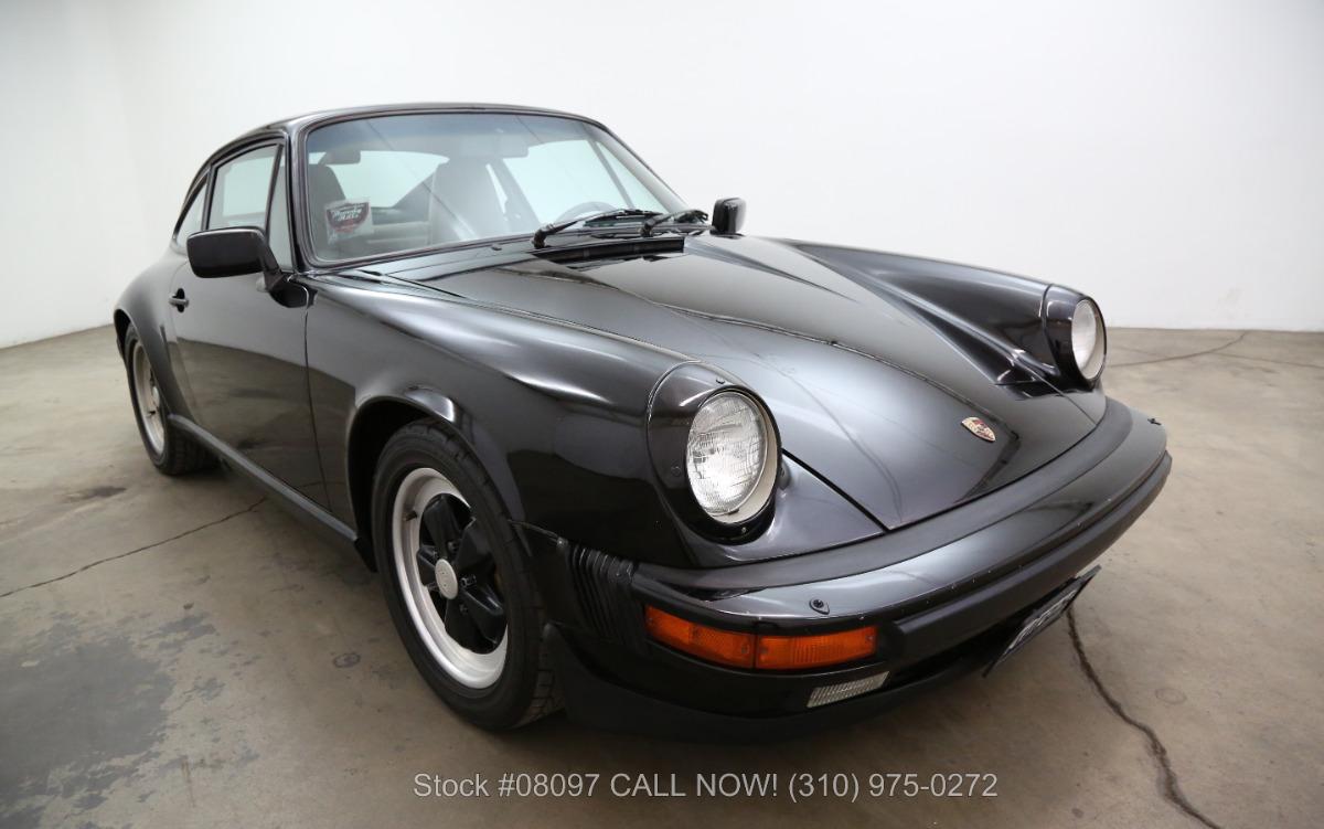 1986 Porsche Carrera Sunroof Coupe