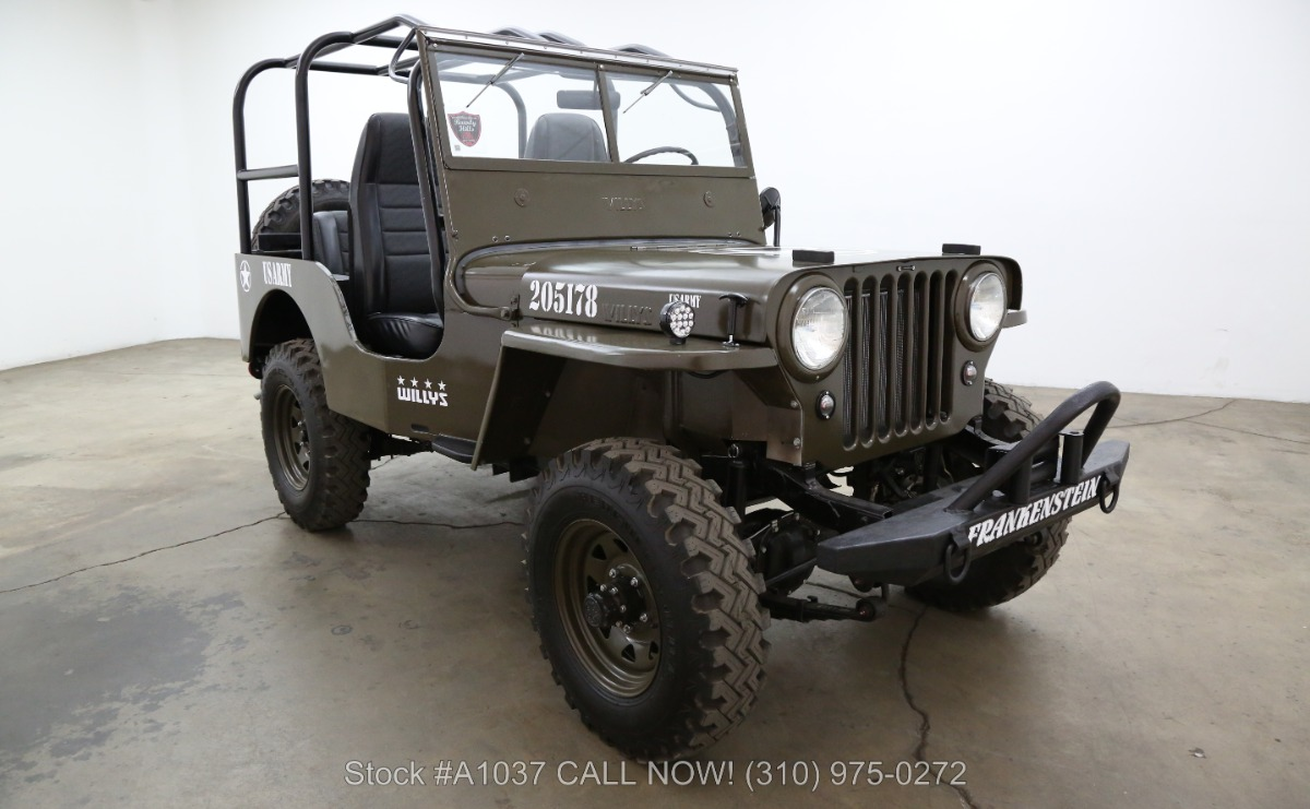 1948 Jeep Cj2a 4x4 Beverly Hills Car Club
